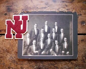 Antique Glee Club Group Photo - Milton College, 1912