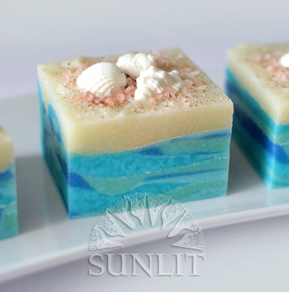 Sunlit Beach Handcrafted Artisan Soap