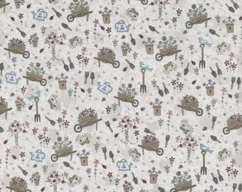 Lynette Anderson Pocketful of Daisies Cotton Fat quarter