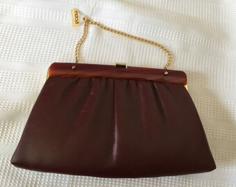 Vintage 1960s 1970s Harry Levine HL Macy's Clutch Chain Bag - New with Tags