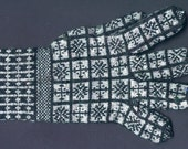 Compass Rose Sanquhar Glove Kit