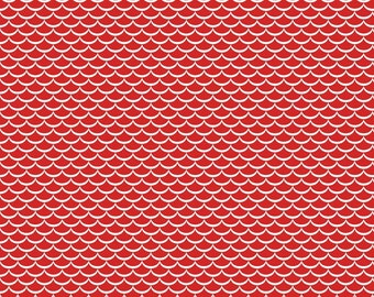 Red Cotton Fabric- Summer Celebration - Riley Blake Cotton Fabric