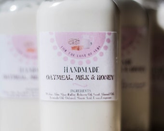 Oatmeal, Milk and Honey Lotion