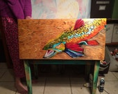 Bench - Tiger Trout Piano Bench
