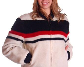 Vintage Mens Reversible Zip Waist Jacket  1950S 46 Chest