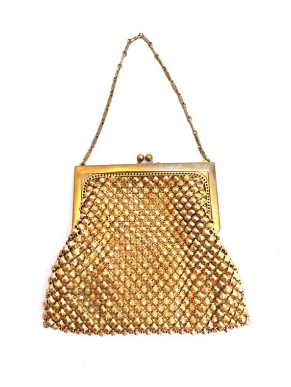 items similar to 1920s beaded purse gold vintage flapper
