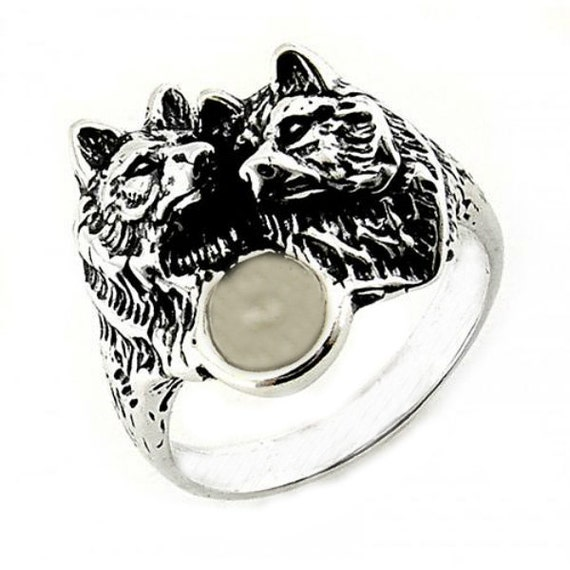 Wolf pack ring - photo#16