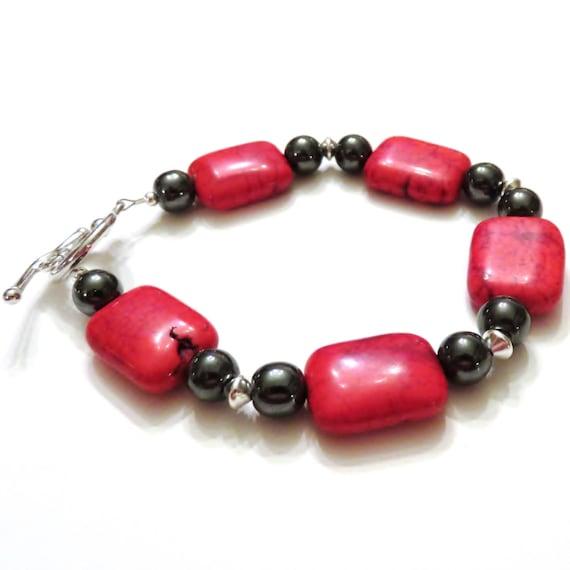 Red Hematite Beads Red Magnesite B...
