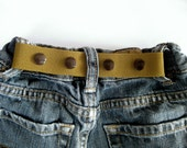 Toddler Boy Belt- ELASTIC SNAP BELT- Children's Belt- Neutral Khaki Olive Green Baby Belt- Waistband Cinch Belt- Kids Belt- Adjustable Belt