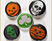 """Season of the Witch - Halloween 1"""" Button Choose Your Own"""
