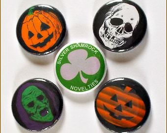 "Season of the Witch - Halloween 1"" Button Choose Your Own"