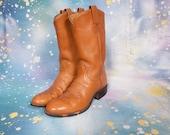 TONY LAMA Cowboy Boots Women's Size 9