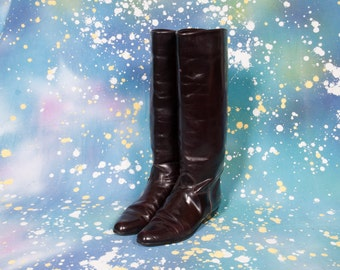 CHARLES DAVID Tall Women's Riding Boots Size 8 .5 B