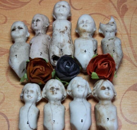 1 Antique Creepy Porcelain Doll By CaityAshBadashery On Etsy