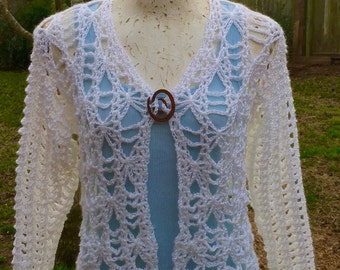 Magically Mirabel Crochet Pattern PDF Cardigan Shrug  Instant Download Sizes XS-XXL plus Women Teens Brides Weddings Bolero Sweater