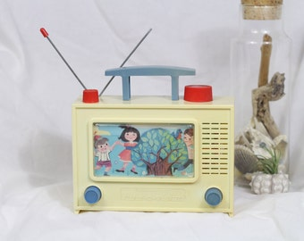 "Vintage Children's TV Toy ""Tune-O-Vision"""