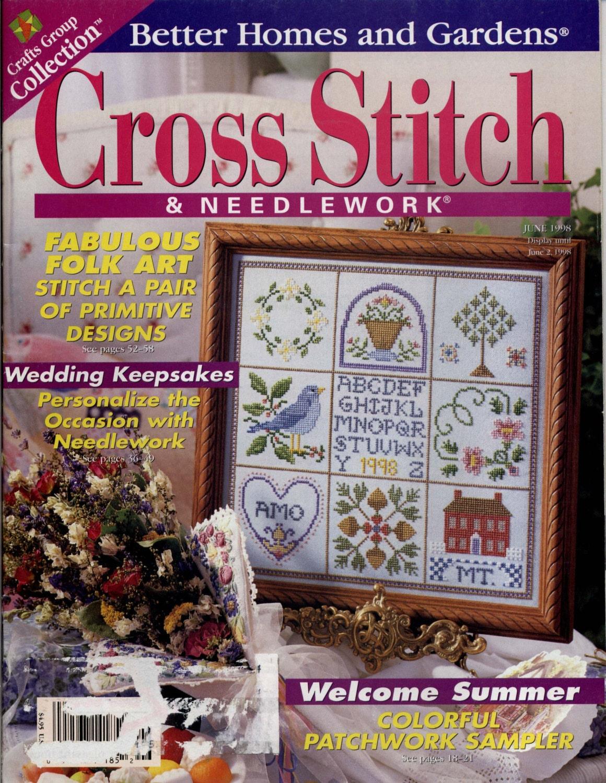 Better Homes And Garden Cross Stitch Needlework Magazine