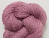 Pixie Dust Recycled Extra Fine Grade Merino Yarn, 1462 Yards Available, Mauve Merino Yarn