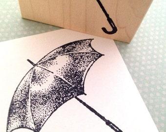 Umbrella  Rubber Stamp 4665 U