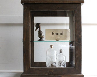 Vintage Store Cabinet