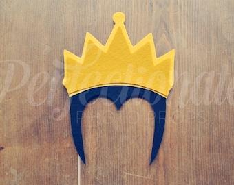 Evil Queen Crown Photo-Booth Prop | Crown Prop | Felt