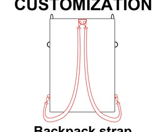 Backpack strap upgrade for your tote bag