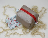 made to order boxy bag perfect for essential oils