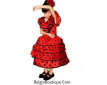 Pageant OOC Flamenco Dress Flamenco Dance Spain Flamenco Costume casual wear talent wear dance wear custom 3/6m up 10 yrs