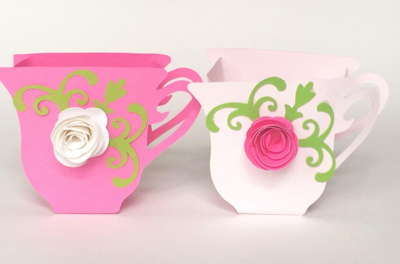 Tea cup party favors set of 12 for Teacup party favors