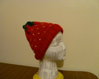 Adult Strawberry Hat