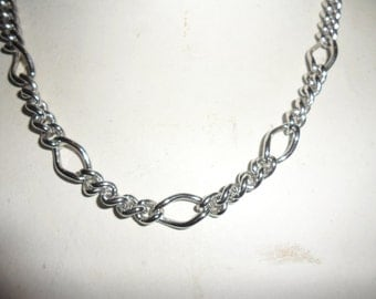 Authentic Vintage SIGNED SARAH COV Sarah Coventry Silver Chain Necklace