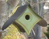 OUTDOOR Birdhouses | Wood Bird House | Unique Birdhouses