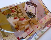 Floral Paper for Making Cards, Journals, Scrapbooks, Tags, Diaries, Crafts, Collage, Decoupage