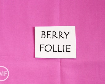 Follie Solid in Berry, Lotta Jansdotter, Windham Fabrics, 100% Cotton Fabric,  353621-7