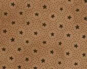 Primitive Gatherings Circle Stars in Tan for Moda