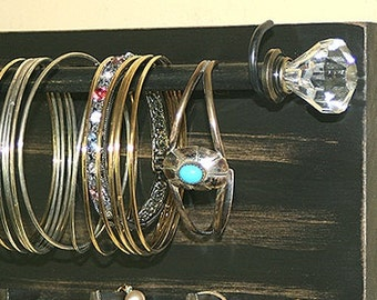Jewelry Holder Organizer Bangle Sale Bracelet Holder Rack Headband Wall Hanging Necklace Holder