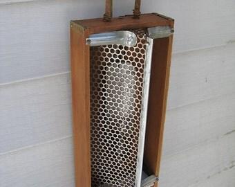 SOLD Industrial Lamp Lantern Sconce Night Light DL 18