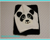 PANDA Hooded Towel / Personalized It! / Ready to Ship