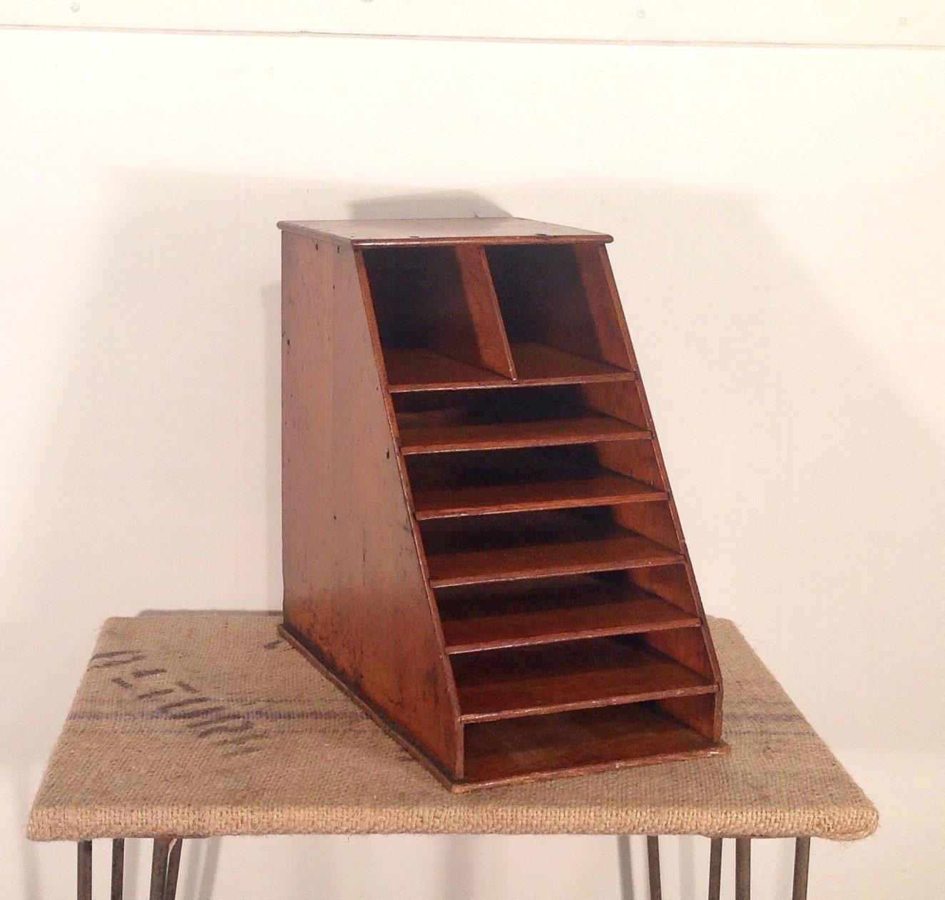 Lastest MyGift Cabinet Shelf Vintage Desktop Wood Storage Office Organizer