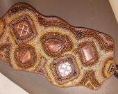 vintage copper cuff