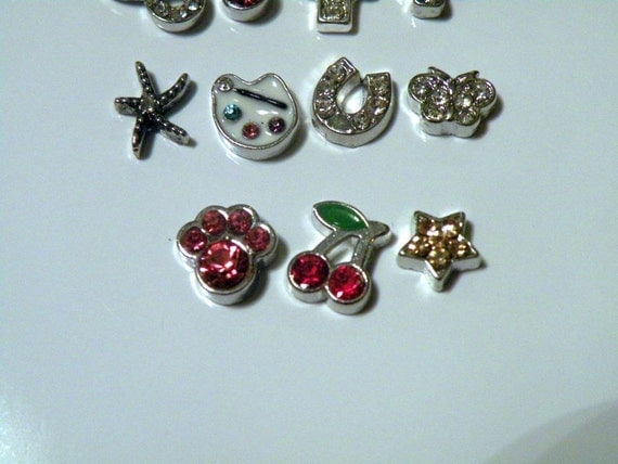 rhinestone floating charms for origami owl living locket