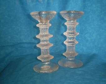 SALE  Vintage candle holders. Set of 2.