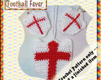 PDF Crochet Pattern Football Fever