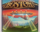 Boston Recycled Record Album Cover Book
