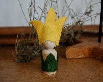 Tulip peg doll
