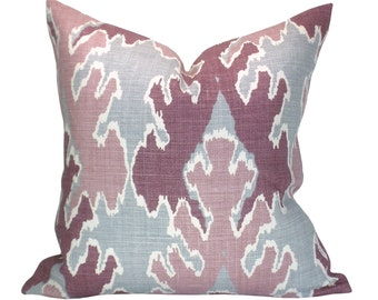 Bengal Bazaar pillow cover in Magenta