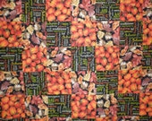 CLOSEOUT Thanksgiving Fall Patchwork  Quilt