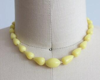 1950s Bartlett Glass Necklace