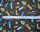 Tools PUL (waterproof fabric) Multidirectional Boy Print Polyurethane Laminate Makes great Diapers and Wet Bags