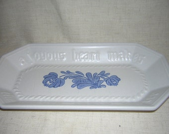 CLOSEOUT  Stoneware Bread Loaf Platter